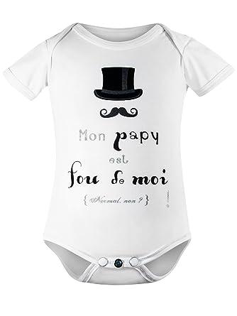 edfc482b3281f titoon® - Body bébé en Coton Bio - Mon Papy - Collection Baby Bee ...
