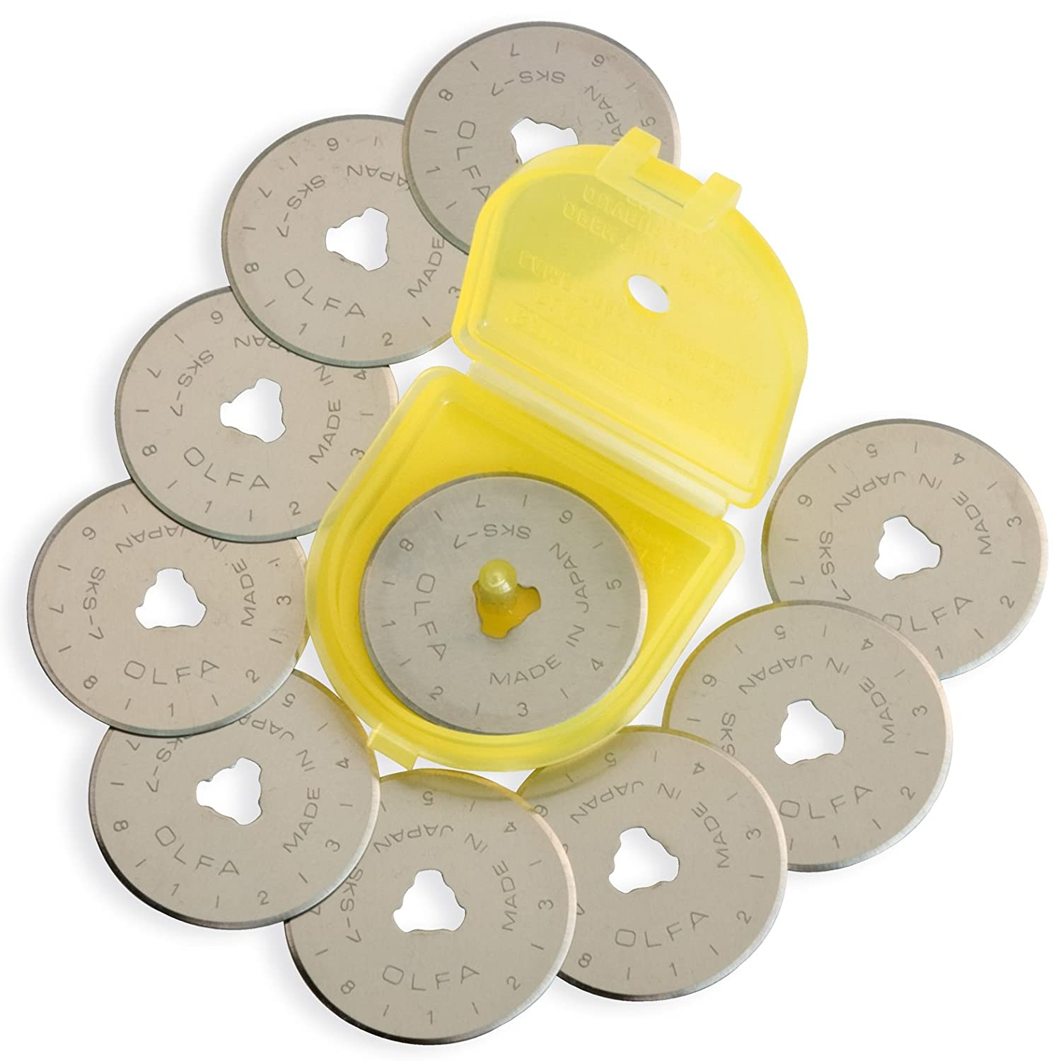 Olfa 28mm Rotary Blade Refill- 10 per Package RB28-10