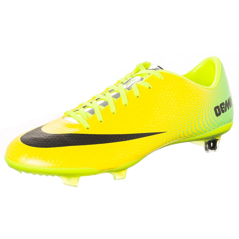 Gul Gul Gul Vibrant gul  svart  Lime  Metallisk silver Nike Mans Mercurial Vapor Football Boots  grossistpris och pålitlig kvalitet