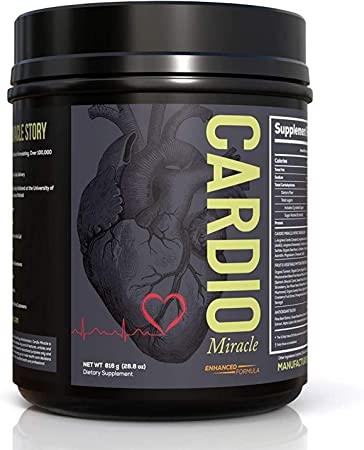 Cardio Miracle (TM) - The Complete Nitric Oxide Solution - Nutritional Heart Healthy L-Arginine and Organic Beetroot Drink Mix 60 Servings