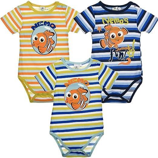 Body bébé garçon et fille Disney Le Monde Dory coton jaune 3 mois   Amazon.fr  Bébés   Puériculture a6d25b92229