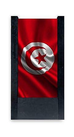 Lampara De Mesa Negra Bandera Tunisia Amazon Es Iluminacion