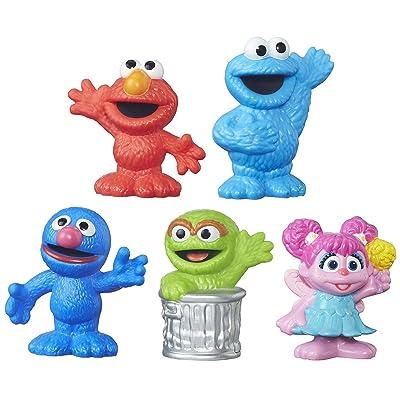 Sesame Street Playskool Collector Pack 5 Figures: Toys & Games