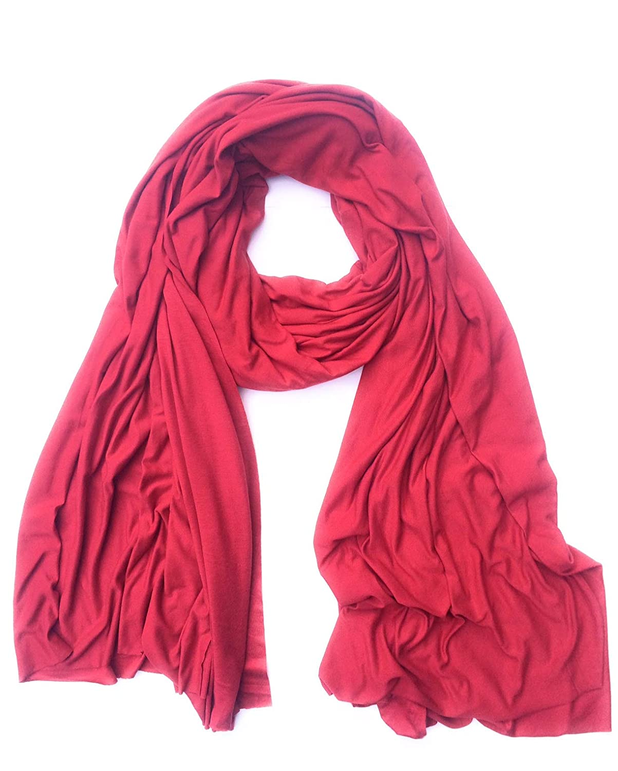 $32.99 SALE FLUXUS NOMAD SCARF HOT PINK TRAVEL WRAP SHAWL COTTON MADE IN USA