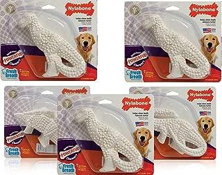 product image for Nylabone 5 Pack of Power Chew Dental Dinosaur, Regular, Assorted Shapes
