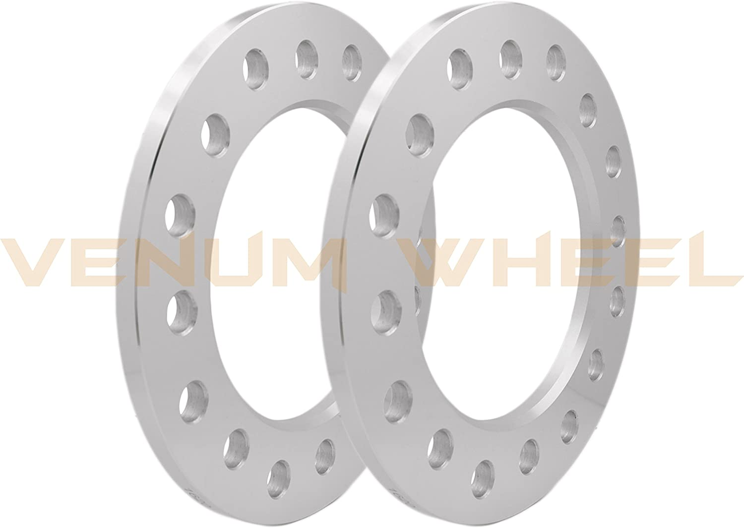 """COMPLETE SET 1//4/"""" THICK  8 LUG DUALLY WHEEL SPACERS 8x200 MM /& 8x210 MM FORGED"""