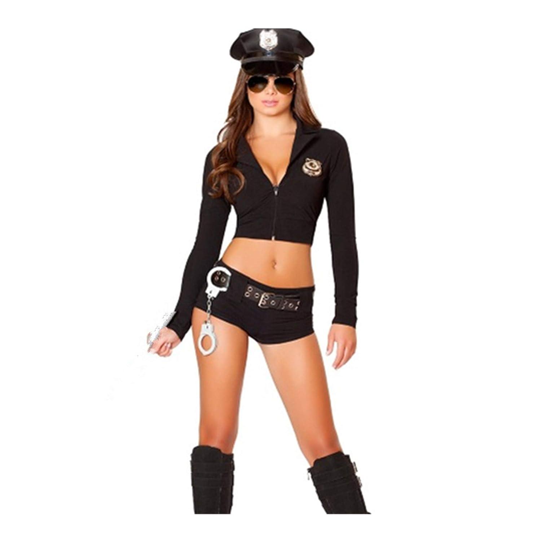 Amazon.com: Luckylove - Disfraz de policía sexy para mujer ...