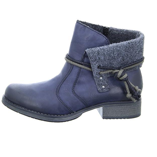 Rieker Damenschuhe Y9791 Damen Stiefel, Schlupfstiefel, Boots