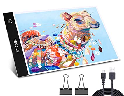 Image Unavailable. Image not available for. Color  A4 Led Tracing Light Box  Tracer Pad Bright Tablet ... 1eb2f1164f2d