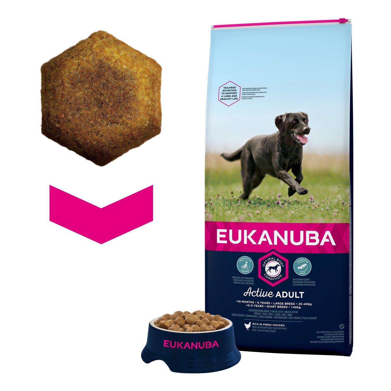 EUKANUBA Perros Adultos Razas Grandes, Large: Amazon.es: Productos para mascotas