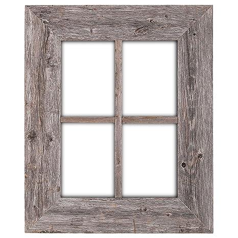 Amazon.com: BarnwoodUSA Rustic Wood Window Frames - 100% Authentic ...