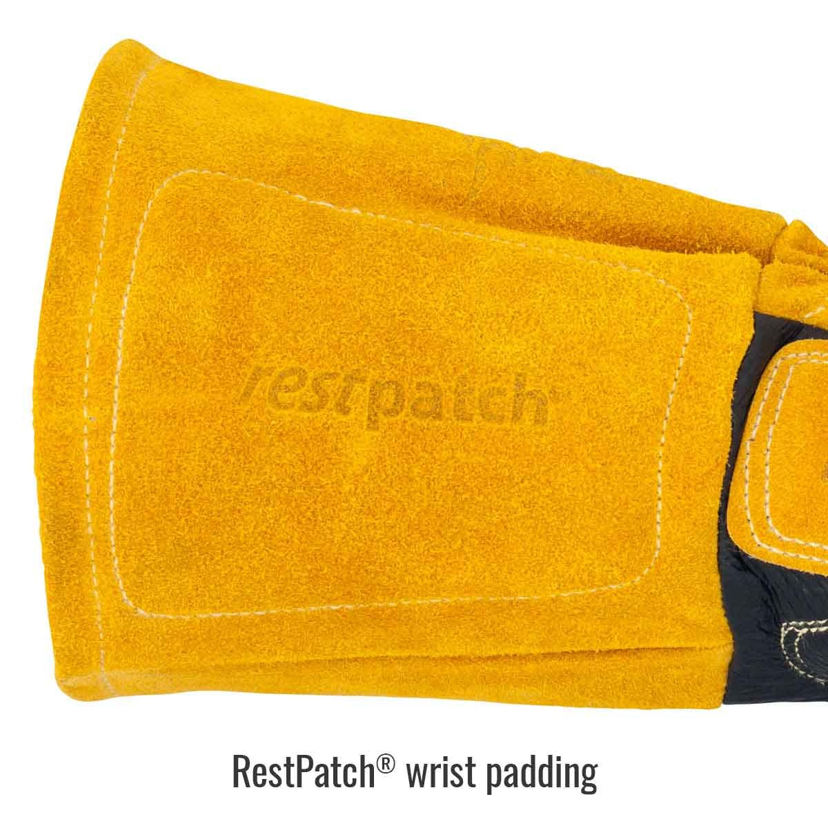 Black Stallion BM88CR Pigskin /& Cowhide MIG Glove with A5 Cut Resistan