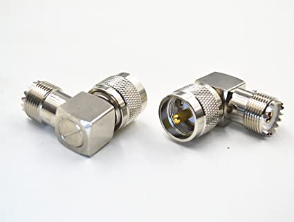 USA Seller 5 PCS UHF Male PL-259 to double UHF Female SO-239 Connector