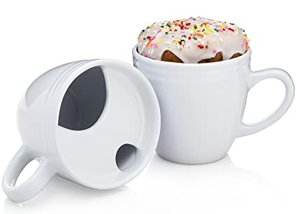 02f781cae8e The Best. Morning. Ever. Mug - Donut Warming Coffee Cup With Drip Trap and  Mustache Guard