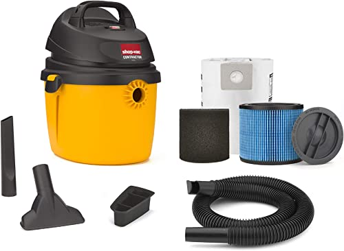 Shop-Vac 2.5 Peak Hp Portable Contractor Wet Dry Vacuum