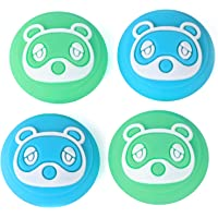 Tscope Animal Crossing Thumb Grip Caps for Nintendo Switch/Switch Lite Controller, Joy-con Analog Joystick Cute Raccoon…