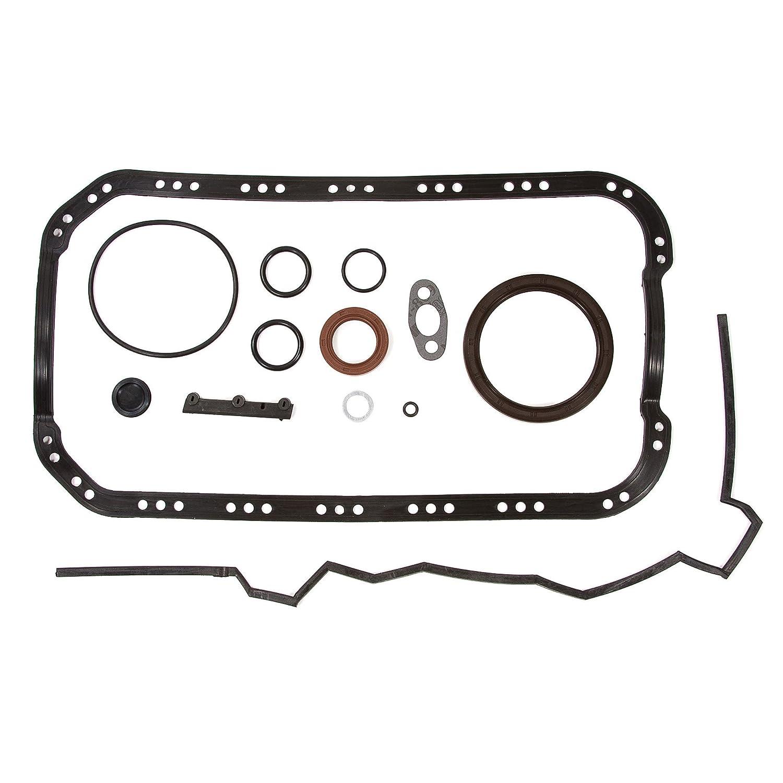 Standard Size Main Rod Bearings Standard Size Piston Rings Evergreen Engine Rering Kit FSBRR4028\0\0\0 Fits 92-95 Honda Civic Del Sol D16Z6 Full Gasket Set