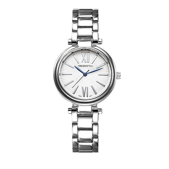 Women S Elegant Blue Hands Watches Ladies Silver Simple Wrist Watch  Minimalist Female Stylish Watch 219c89b133