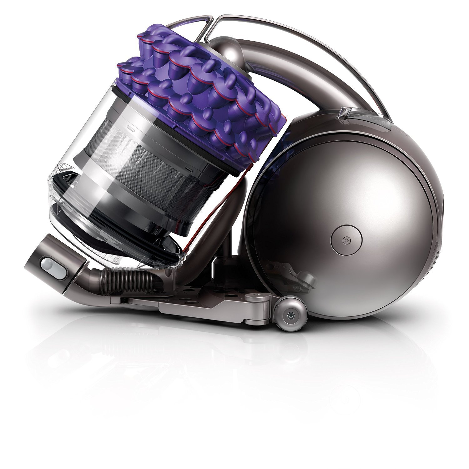 Dyson CY18 Cinetic Animal Canister Vacuum, Purple/Iron (Certified Refurbished) by Dyson (Image #3)