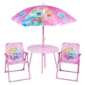Disney Princess Kinder Gartenmöbel Set: Amazon.de: Spielzeug