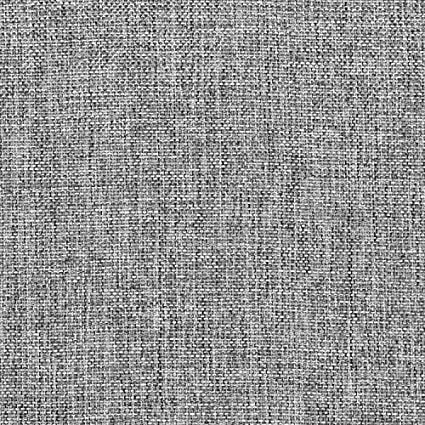 Charcoal Polyester Linen Fabric - by the Yard
