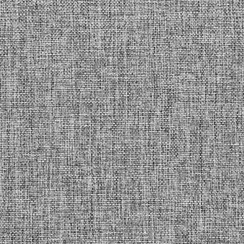 - Charcoal Polyester Linen Fabric - by the Yard