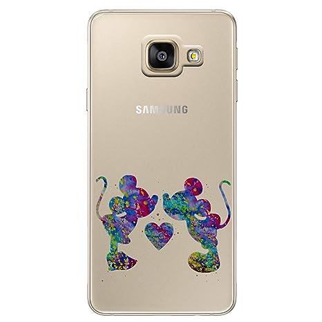 90d6fd19ee464e Fan Art Étui Coque de Téléphone pour Samsung Galaxy A5 2016   Silicone Doux  Gel