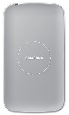 Samsung - Cargador por inducción Galaxy S4, Blanco- Versión Extranjera