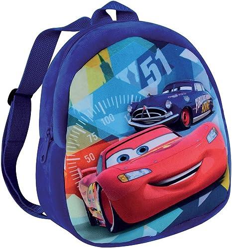 Cars Disney Lightning McQueen Sac /à dos pour enfant Noir