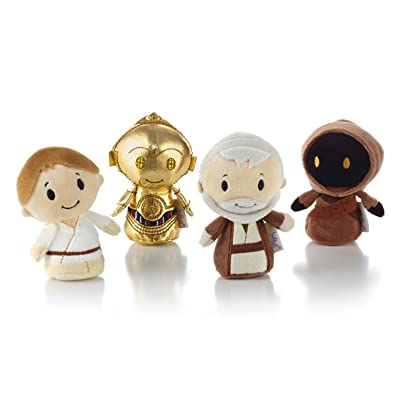 Hallmark itty bittys Star Wars Stuffed Animal Collector Set: Toys & Games