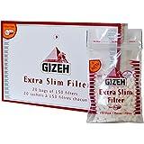 Filtre Gizeh 20 sachets de 150 filtres chacun