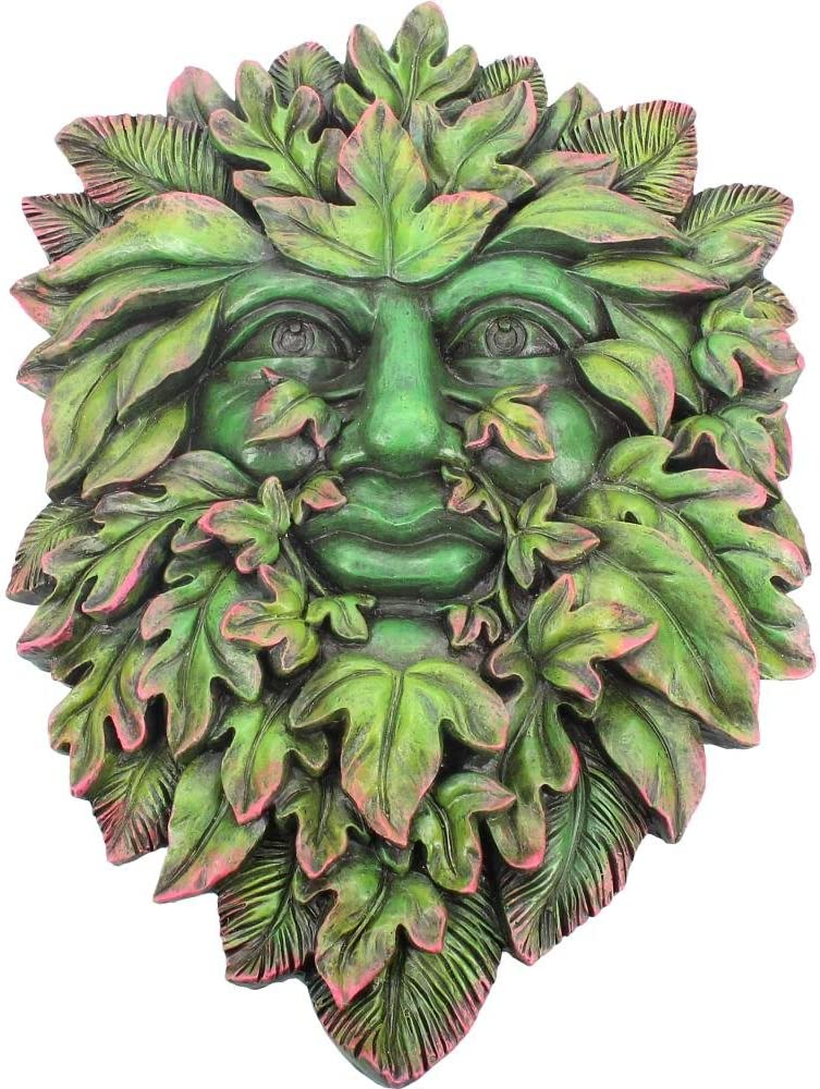 Nemesis Now Beltane's Bourgeon Wall Plaque 24cm Green