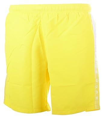 dd4f86770e003 BOSS Hugo Boss Men's Seabream Swim Shorts, Yellow (Bright Yellow 732),  Medium: Amazon.co.uk: Clothing