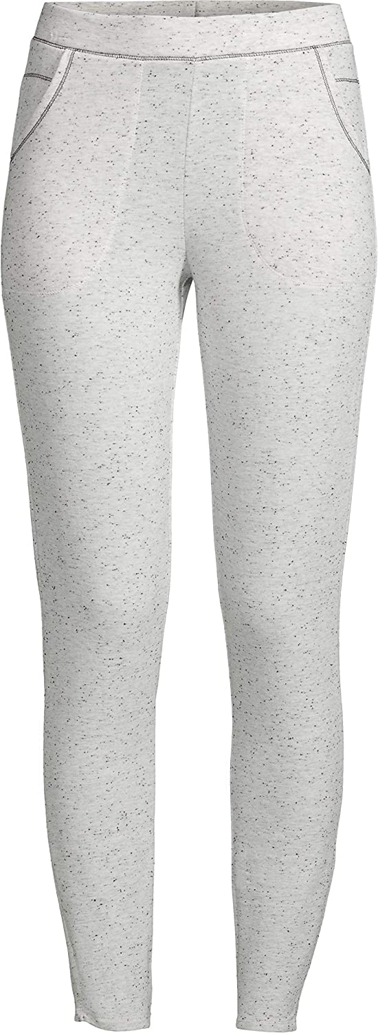 Cuddl Duds Womens and Womens Plus Comfort Core Warm Long Underwear Legging S Ivory Neps