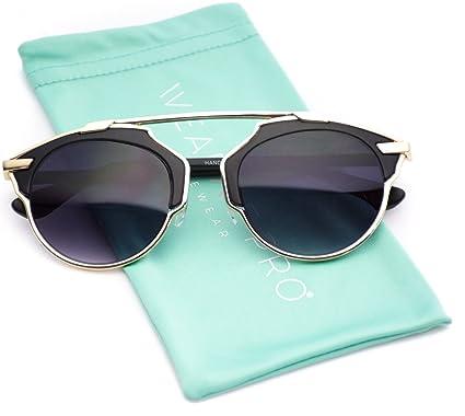 cheap designer sunglasses for women  Amazon.com: Mirrored Lens Fashion Designer Sunglasses for Women ...