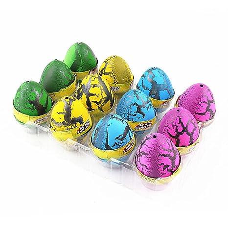 Leorx 12pcs dinosaurio Portilla cultivo de huevos para niños ...