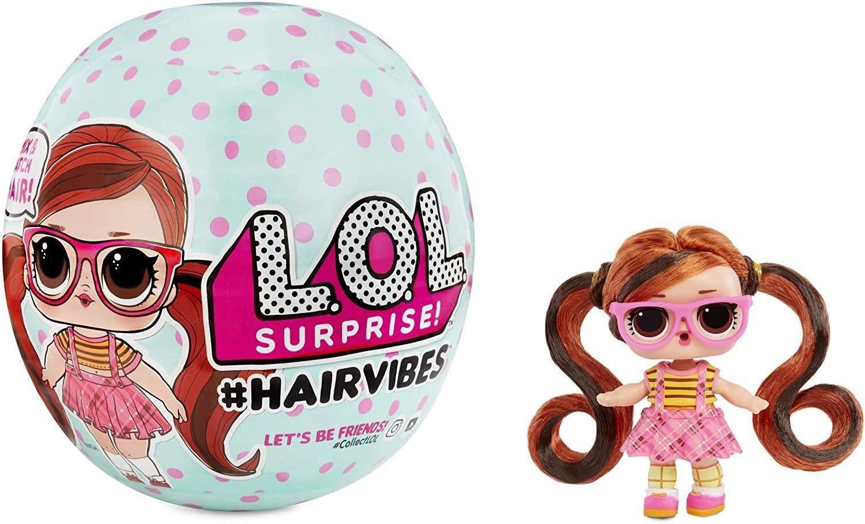 Lol Surprise Hairvibes, Muñeco, 15 sorpresas