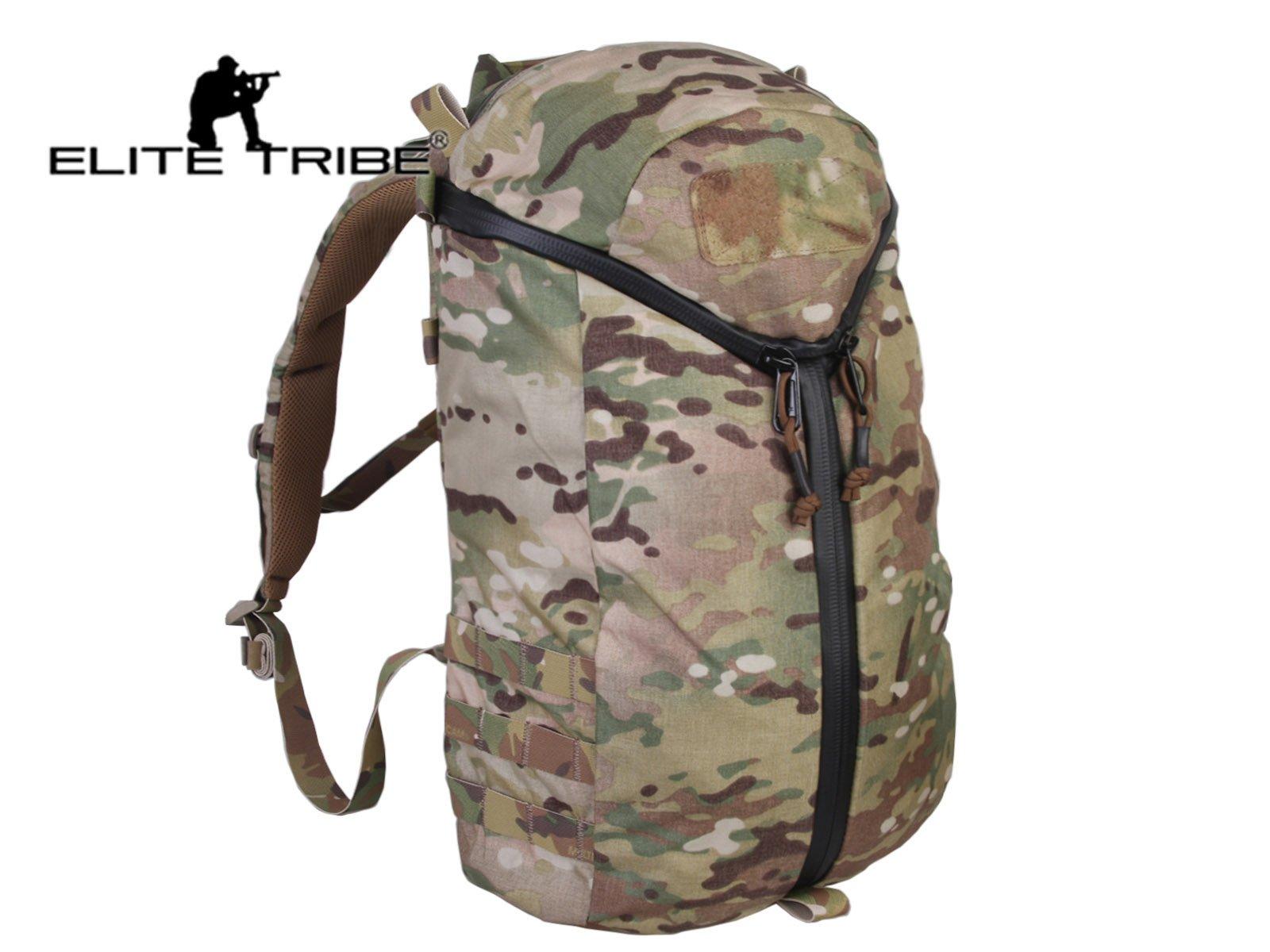 Elite Tribe Y Zip City Assault Pack Travelling Multi-Purpose Molle Shoulder Bag