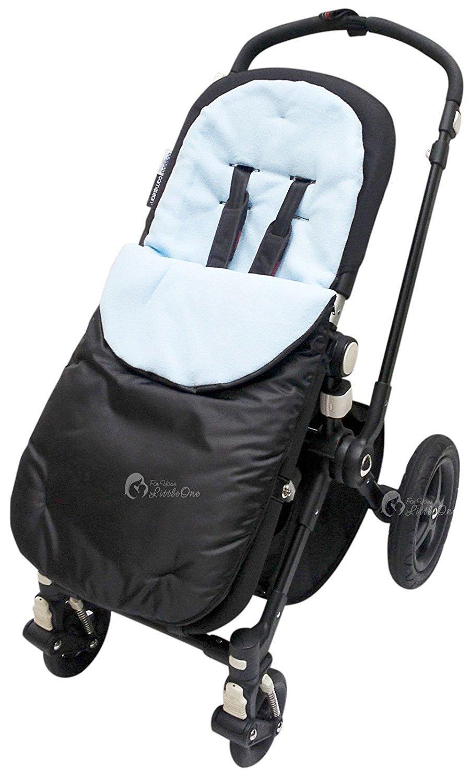 Saco cubrepiés para sillita de bebé compatible con Jane Trider/Rider/Twin/Matrix Luz, color azul: Amazon.es: Bebé