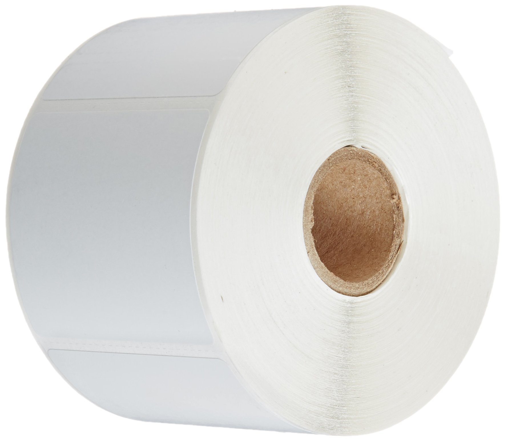 CompuLabel Direct Thermal Labels, 2 1/4 x 2 Inches, White, Roll, Permanent Adhesive, Perforations Between Labels, 700 Per Roll, 12 Rolls Per Carton (530605)
