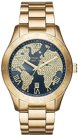 Michael Kors Michael Kors Layton MK6243 Damenarmbanduhr  Amazon.de  Uhren 8000c169b4
