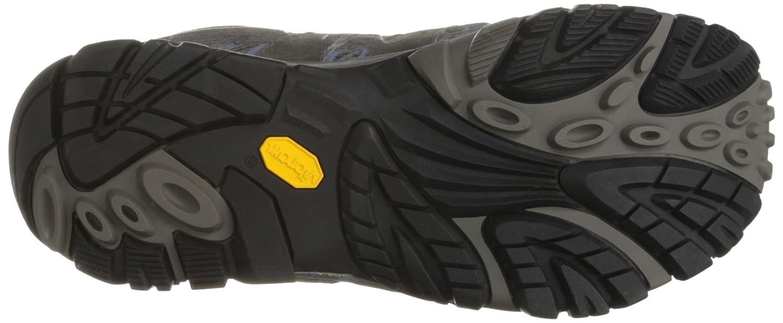 Merrell Women's Moab 2 Mid Waterproof Hiking Boot B01HFL9P16 11 W US|Granite