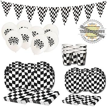 Amazon Com Checkered Flag Party Supplies Pieces Nascar