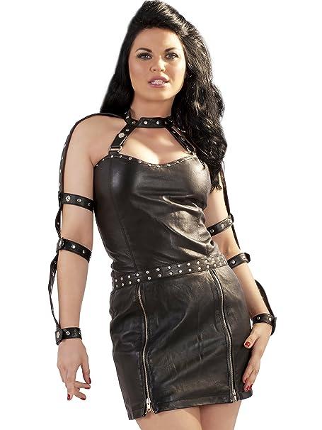 Amazon.com: Honor Mujer Piel De Gladiador Vestido con ...