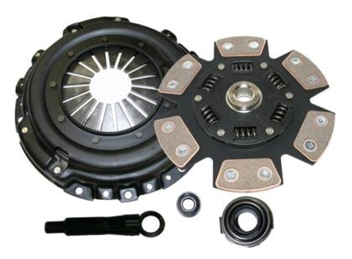 Competition Clutch Stage 4 Six Puck Clutch Kit for Honda//Acura B Series Applications