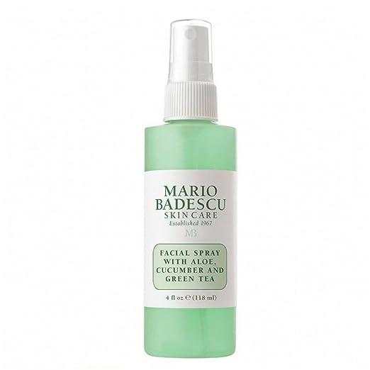 Mario Badescu Skin Care Facial Spray with Aloe,Cucumber And  Green Tea, 4 Fl Oz