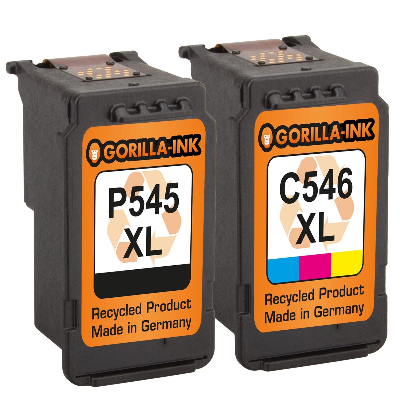 Gorilla de Ink® - Juego de 2 cartuchos de tinta XXL ...