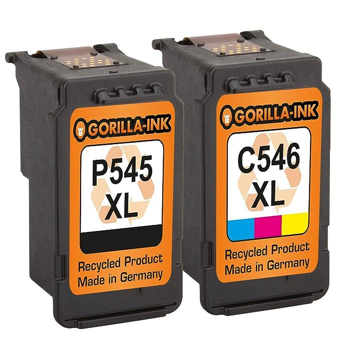 Gorilla de Ink® Set 2 x Cartucho de tinta XXL refabricado para ...