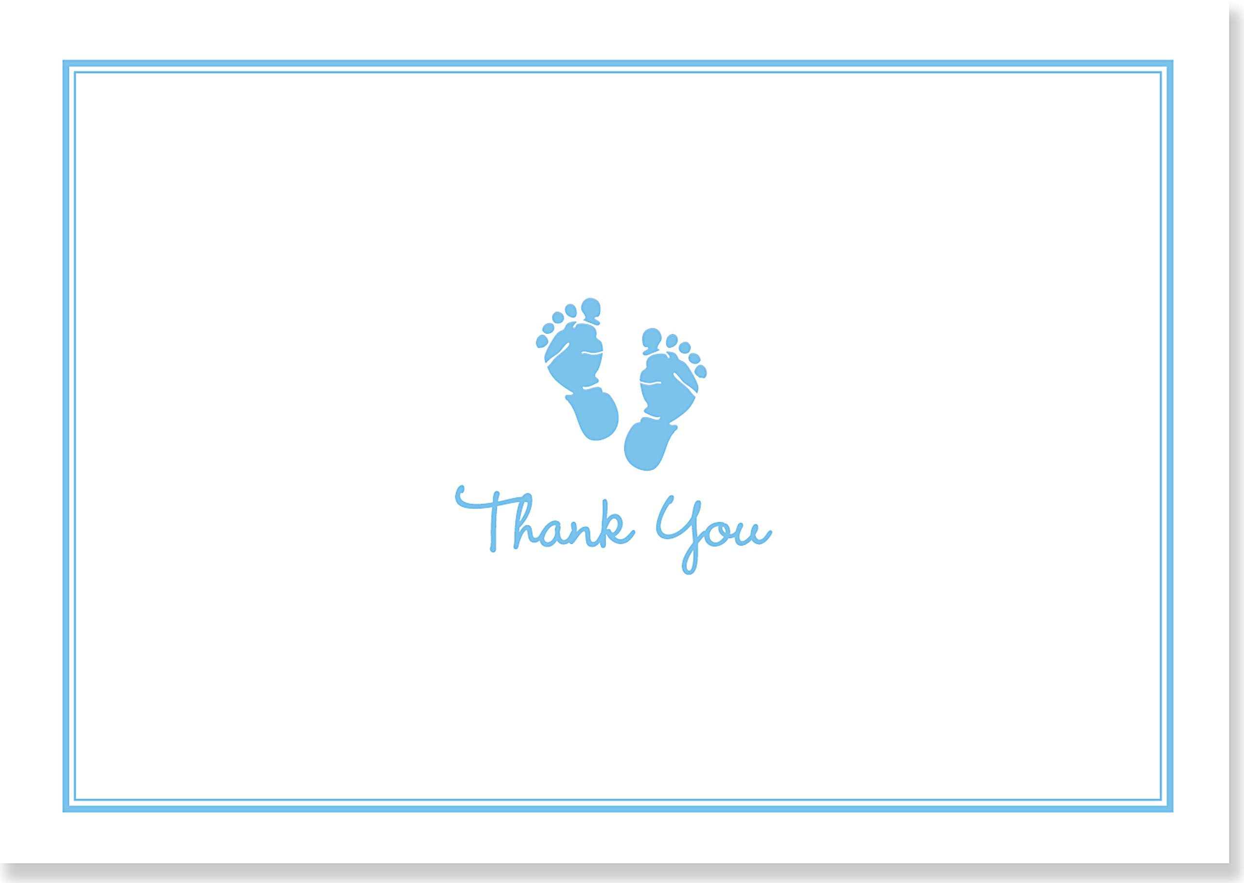 Baby Steps Thank You Notes product image