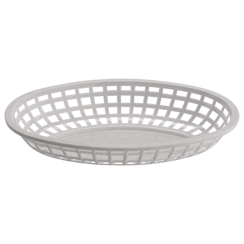 GET OB-938-W Oval Serving/Bread Basket, 9.5
